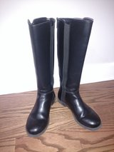 Steve Madden Tall Black Boots Big Girl Size 3 in Naperville, Illinois