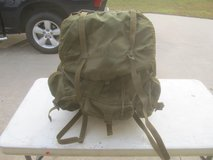 US Military Field Pack LC-1 Combat Rucksack Alice Backpack Metal Frame in Warner Robins, Georgia