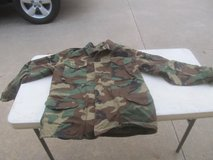 Military Woodland Camo Field Jacket in Warner Robins, Georgia