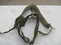 Military Pistol Belt & Y Suspenders Set in Warner Robins, Georgia