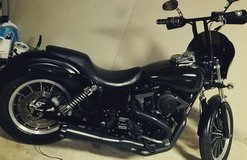 Dyna Low rider in Camp Pendleton, California
