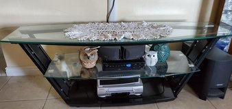 Glass Entertainment Center (display not included) in 29 Palms, California