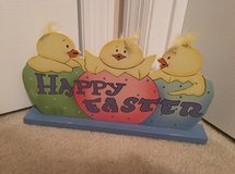 """NEW """"Happy Easter"""" Wooden Centerpiece Tabletop Decoration in Camp Lejeune, North Carolina"""