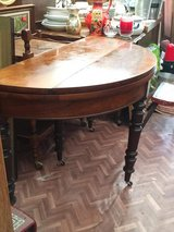 "gorgeous antique French table ""demi  lune"" in Ramstein, Germany"