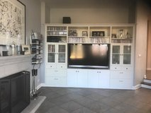 Built-In Wall Unit, includes Sony TV in Batavia, Illinois