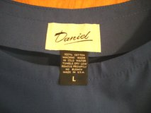 NEW DESIGNER CLASSIC BLOUSE - ROYAL BLUE - SHORT SLEEVES -L in Sandwich, Illinois
