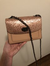 Coach mini crossbody with glitter in Grafenwoehr, GE