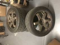 "18"" Rota wheel set with tires in Fort Bliss, Texas"