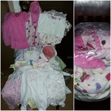 Babygirl NewBorn to 6months clothes. in Beaufort, South Carolina