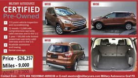 MAS 2017 Ford Escape Titanium Fully Loaded in Grafenwoehr, GE