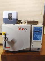 Tuttnauer EZ9 Fully Automatic Tabletop Autoclave Sterilizer & 1200H Ultrasonic Cleaner - Medical... in Clarksville, Tennessee