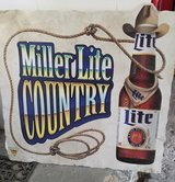 Large Miller Beer Sign in Spring, Texas