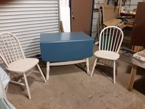 Vintage Painted Table and 2 Chairs in Camp Lejeune, North Carolina