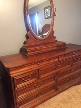 Lexington Solid Wood Dresser with oval mirror in Pleasant View, Tennessee