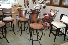 3 Bar Height Stools in Tacoma, Washington