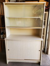 Lovely Cabinet/Hutch With Glass Doors in Alamogordo, New Mexico