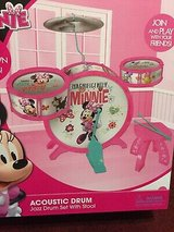 Minnie acoustic drum set new in Westmont, Illinois