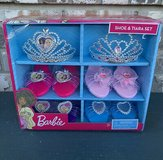 Barbie Shoe & Tiara Dress up Set Includes 2 Crowns and 4 Pairs of Shoes in Westmont, Illinois