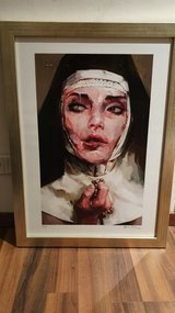 Painting print numbered with custom frame in Ramstein, Germany