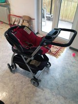 Chicco car seat with stroller in Ramstein, Germany