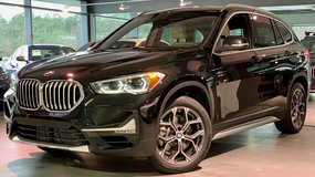 2020 BMW X1 xDrive 28i in Sapphire Black *$9,050 under US MSRP in Ramstein, Germany