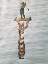 Golf welcome signs metal art New in Tacoma, Washington