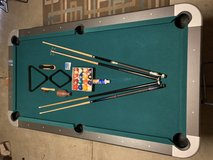 Pool Table with Accessories in Camp Pendleton, California