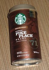 NEW Starbucks Pike Place Medium Roast Arabica Ground Coffee 13.5 oz. Canister Scoop Included in Chicago, Illinois