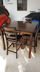 Coviar Counter Height Dining Room Table and Bar Stools in Okinawa, Japan