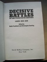 Book:  Decisive Battles of the 20th Century in Stuttgart, GE