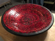 Large decorative bowl in Ramstein, Germany