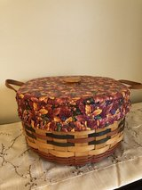 Longaberger Shades of Autumn Basket of Plenty with Lid in Naperville, Illinois