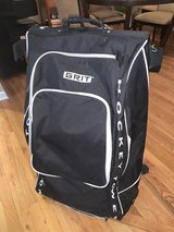 Grit Junior HTSE tower hockey bag with wheels in Naperville, Illinois