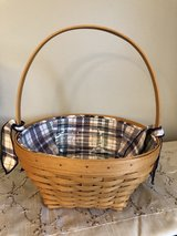 Longaberger 2001 Easter Basket, Liner and Protector in Westmont, Illinois