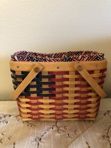 Longaberger Collectors Club 2002 Mini Flag Basket in Naperville, Illinois
