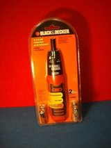 NEW BLACK & DECKER BATTRY POWERED SCREWDRIVER in Naperville, Illinois