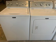 Maytag washer and dryer electric in Houston, Texas