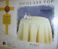 "New! Furio 23-1/4"" Glass Top for round Decorator Table in Orland Park, Illinois"