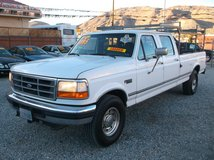 "1997 FORD F350 XLT SUPER DUTY CREW CAB 7.3L TURBO DIESEL AUTO 2WD ""ONE OWNER "" - $5995 in 29 Palms, California"