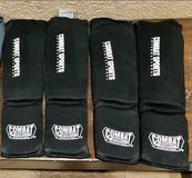 Combat Sports Washable MMA Training Instep Padded Shin Guards in Travis AFB, California