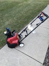 """New Style Toro 18"""" power curve ELECTRIC snow blower like new with manual ready to work great sha... in Sandwich, Illinois"""