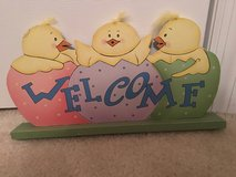 """NEW """"Welcome"""" Wooden Centerpiece Tabletop Decoration in Camp Lejeune, North Carolina"""