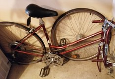 Womens Girls Schwinn Varsity vintage 70's ten speed bicycle ~ for parts or bike restoration in Bolingbrook, Illinois