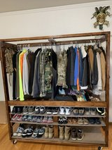 Coat Hanger/Shoe Rack in Lackland AFB, Texas