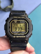 casio g shock 30th anniversary JDM made in Japan carbon fiber band in Okinawa, Japan