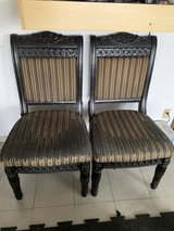 Pair of Dining table Chairs in Okinawa, Japan