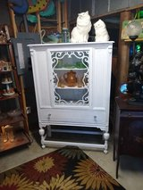 antique chalk painted cabinet in Cherry Point, North Carolina