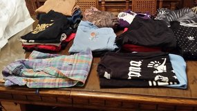 Boys Clothing from High School - TABLE FULL -24 Items in Bolingbrook, Illinois