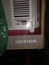 LG Electronics Window Air Conditioner with Cool, Heat and Remote in White (new in box) in Kingwood, Texas