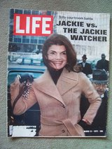 1972 LIFE Magazine (Feature Article: Jackie Kennedy) in Wiesbaden, GE